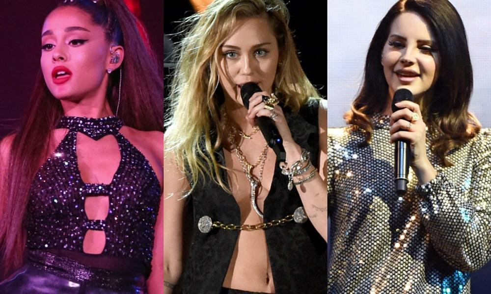 Η Ariana Grande, η Μiley Cyrus και η Lana Del Rey «αγγελική» συνεργασία