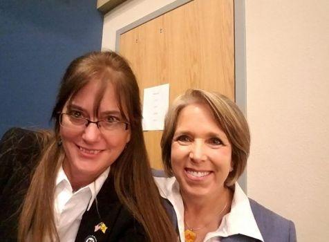 I met Michelle Lujan Grisham at the Democratic …