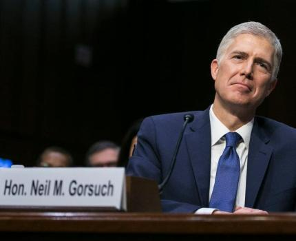 Gorsuch was confirmed to the Supreme Court this …