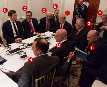 The problem with Trump's situation room photo? …