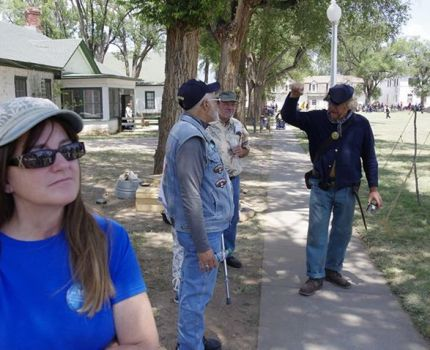 I spent Saturday afternoon at Fort Stanton LIVE