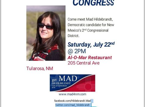 Come and meet Mad Hildebrandt, Democratic …