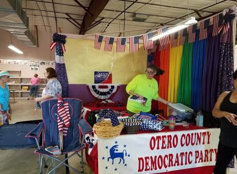 I'm at the Otero County Fairgrounds with the Otero …