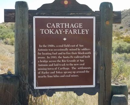Just outside of San Antonio, NM is the site of a …