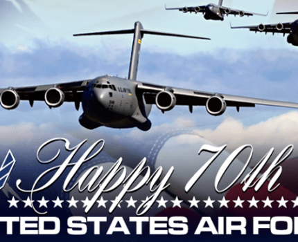 Happy 70th to the US Airforce (yesterday)
