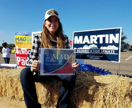 At the Eastern New Mexico State Fair parade with …