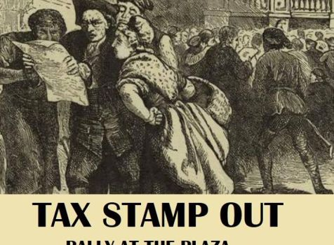 """Tax """"Stamp Out"""" Rally"""