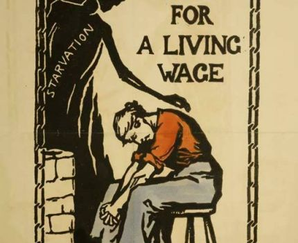 Pro suffrage poster designed by Catherine …