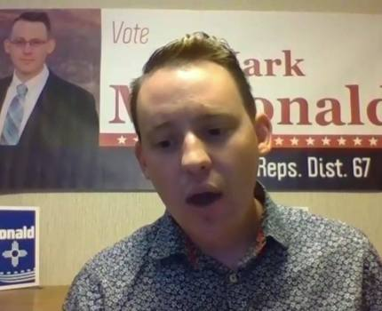 Clip 2 – Mark McDonald is the Democratic candidate …