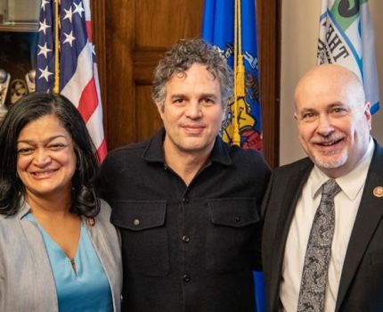 Mark Ruffalo spent time in Washington, DC with …