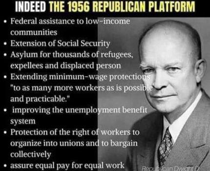 1956 Republican platform.