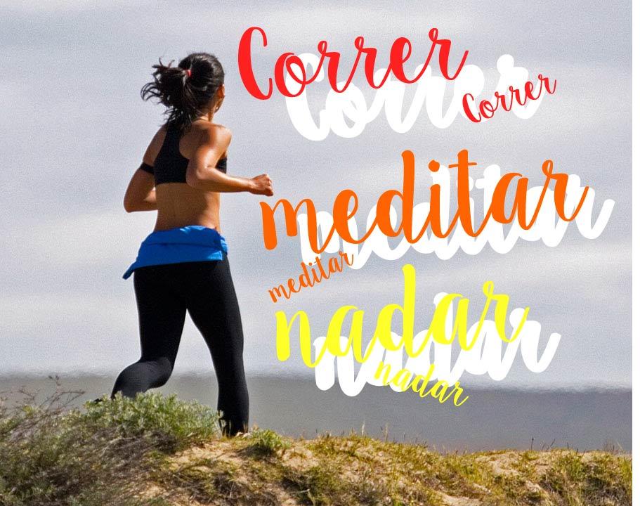 Correr, nadar y meditar