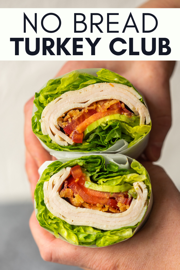Image for a pining the no bread turkey club recipe on pinterest