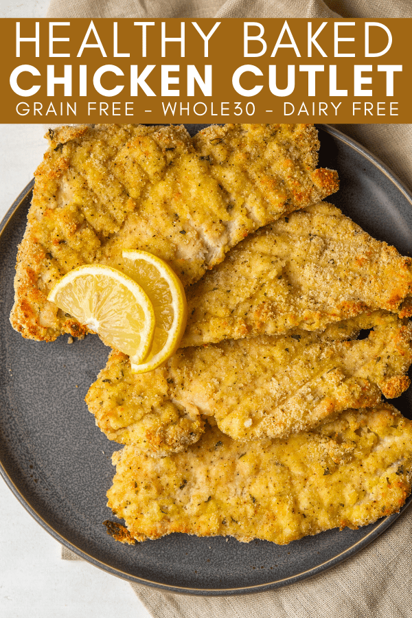 Image for pining healthy baked chicken cutlets on Pinterest