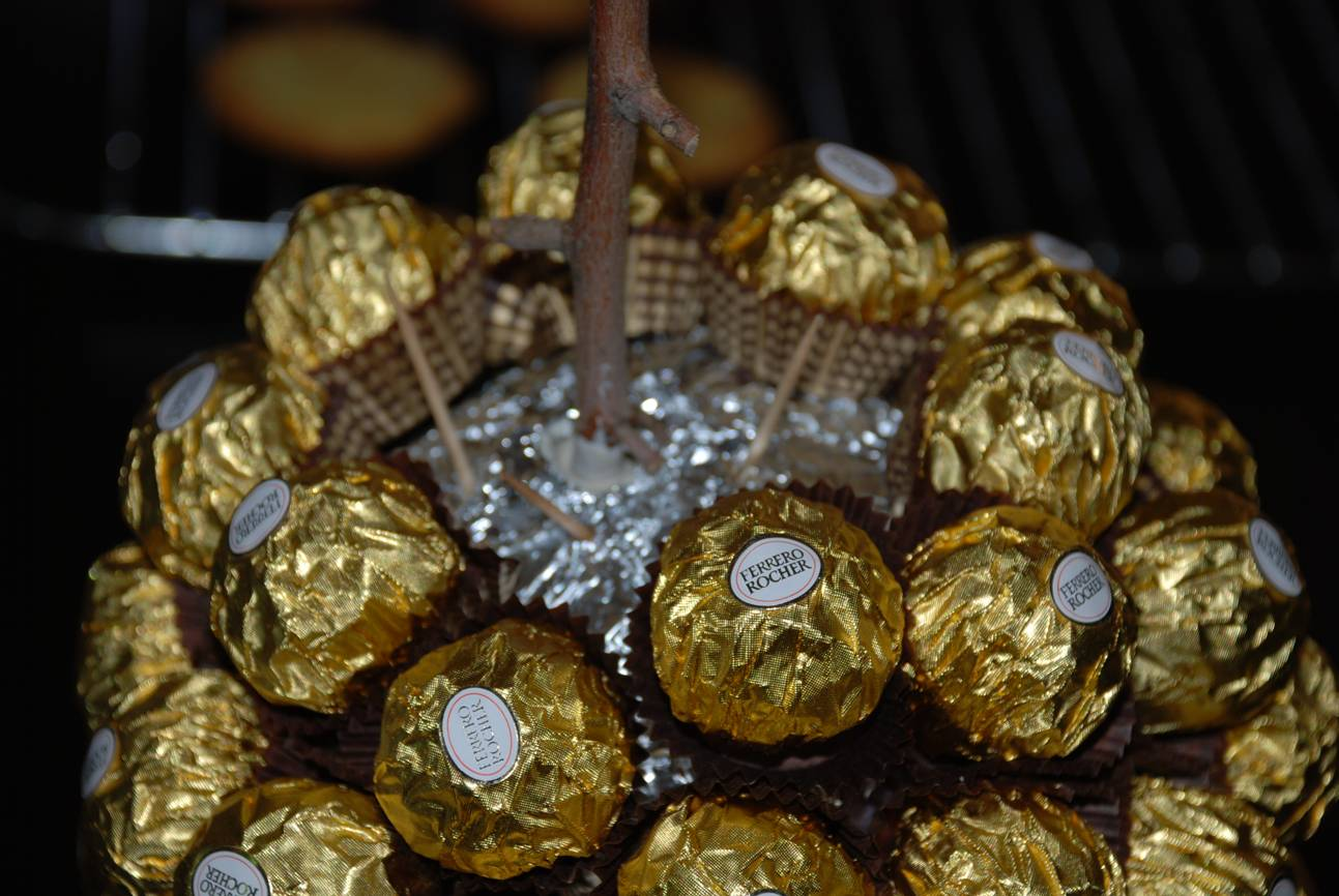 Ferrero Rocher Chocolate Tree Mad About Food