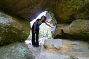 Explorando el Parque Nacional de Red River Gorge en Kentucky