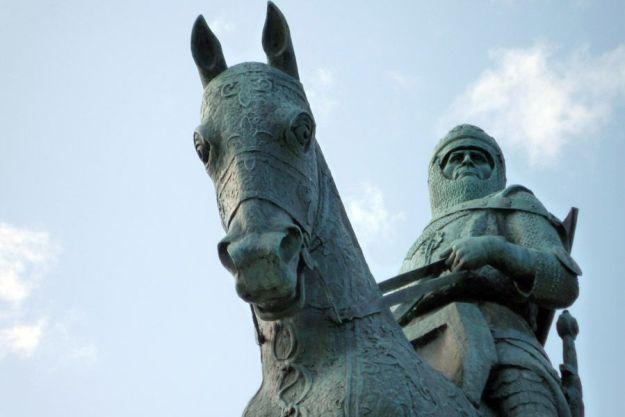 Robert The Bruce en Bannockburn