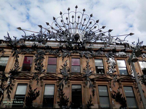 Centro comercial en la Calle Buchanan de Glasgow
