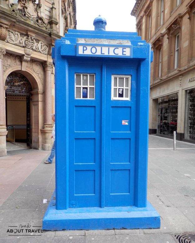 Tardis en Glasgow
