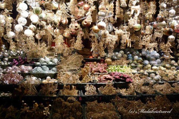 Una parada del Mercado de Navidad del Ayuntamiento de Viena