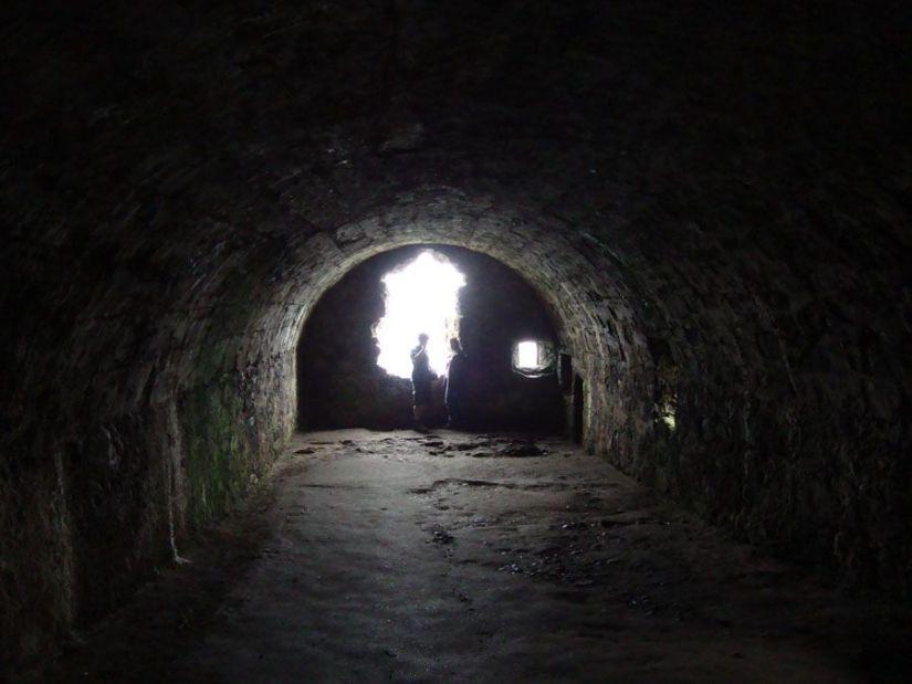 Mazmorra del castillo de Dunnottar