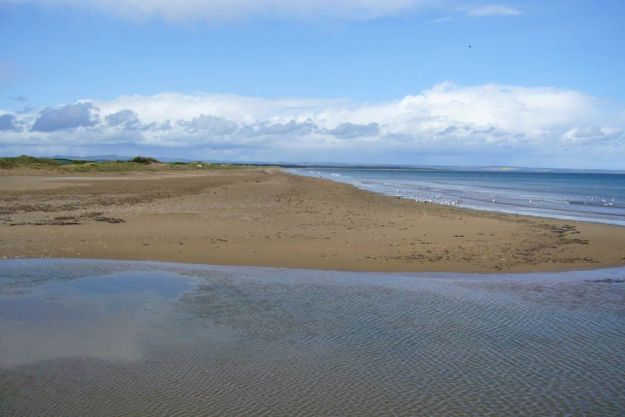 West Sands beach in Saint Andrews