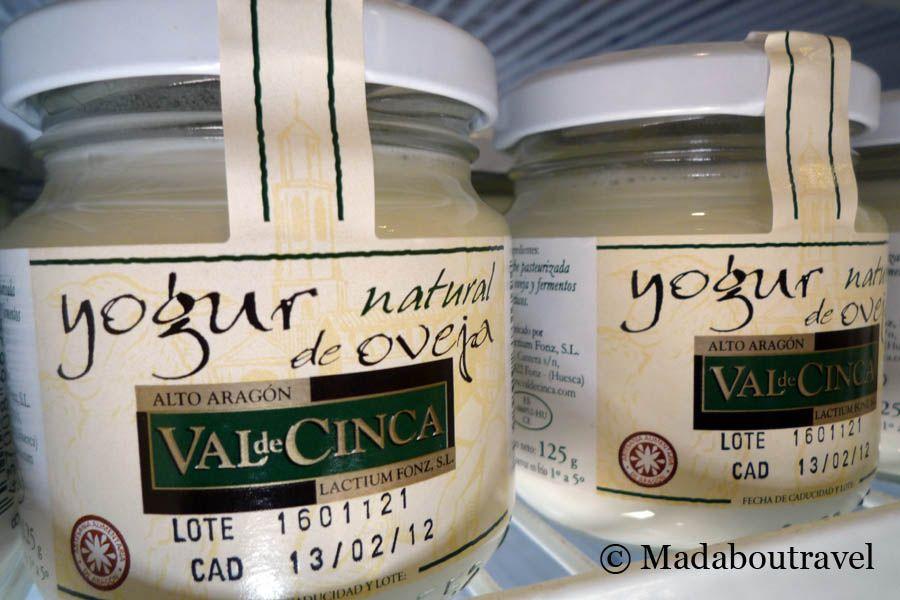 Yogur de oveja de la quesería Val de Cinca