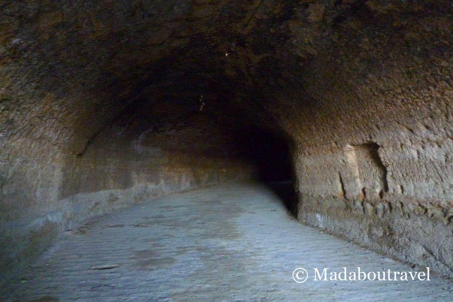 Mazmorra del castillo de Monzón