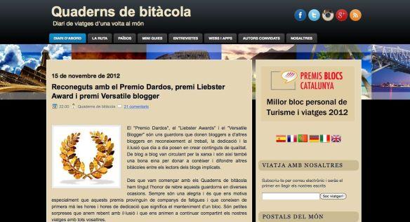 Blog Quaderns de Bitacola