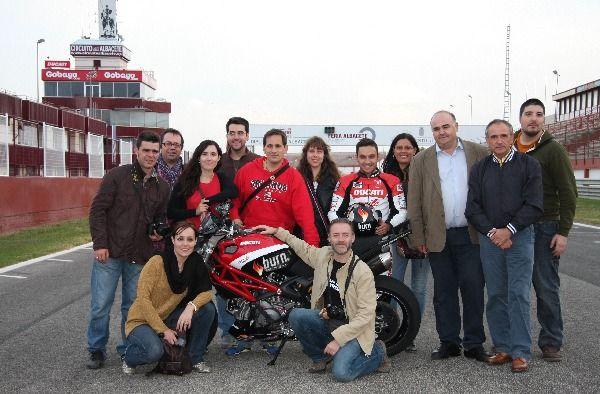 #ABExperience en el Circuito de Albacete con Emilio Zamora