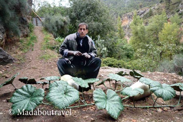 Sele haciendo el monólogo de la calabaza en Ayna, Albacete
