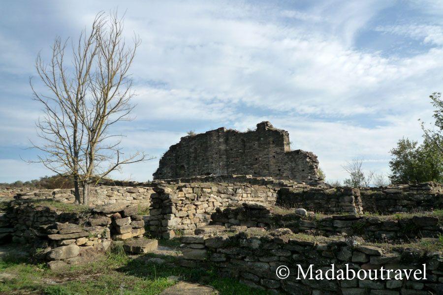 Yacimiento medieval de l'Esquerda, en Roda de Ter