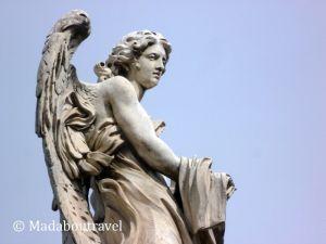 Ángel en el Puente de Sant'Angelo, Roma