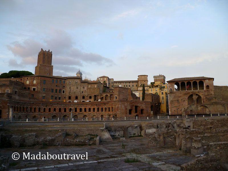 Mercados de Trajano, Foro de Trajano, Roma