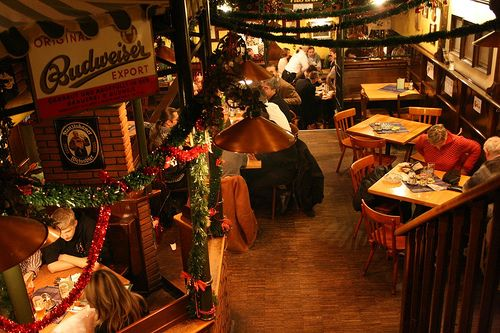Interior del restaurante Zum Bettelstudent