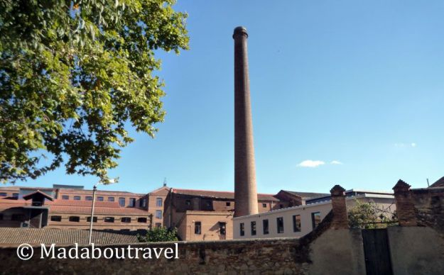 Recinto industrial de la Colònia Güell