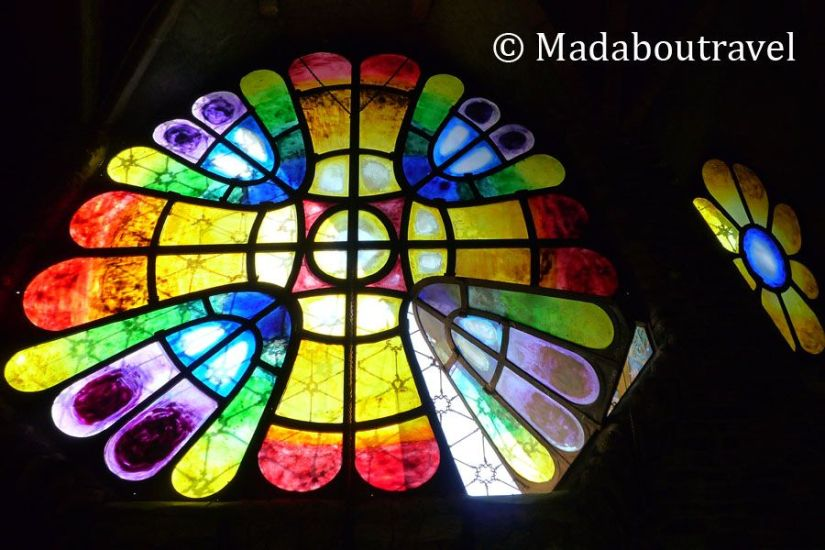 Cristales multicolores
