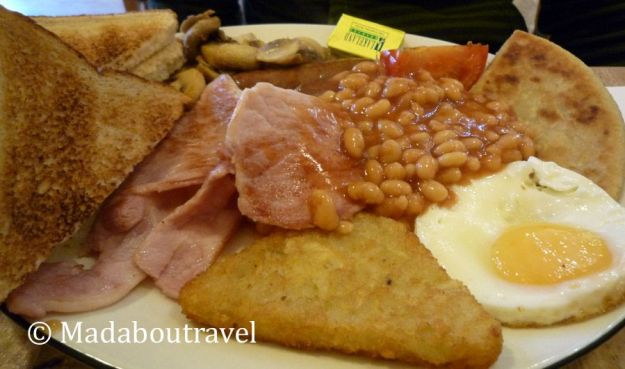 British Breakfast en Café Keno