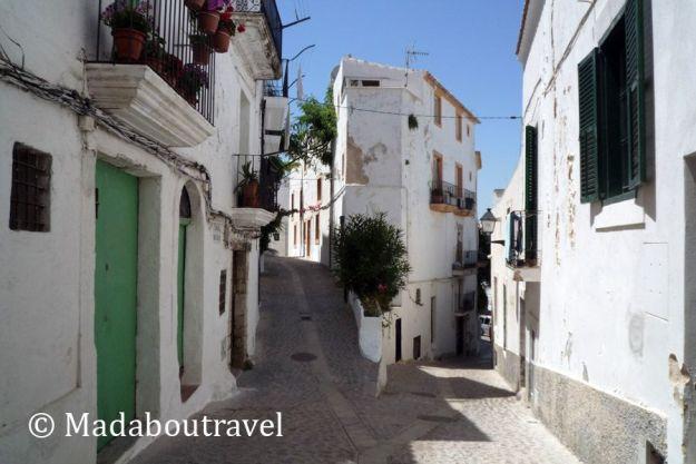Callejuelas en Dalt Vila, Ibiza