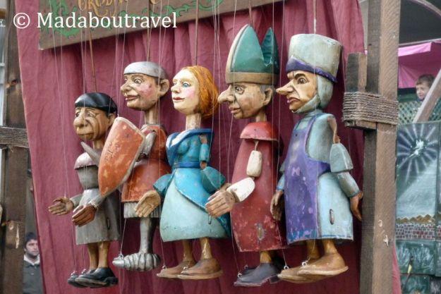 Títeres en el Mercat Medieval de Vic