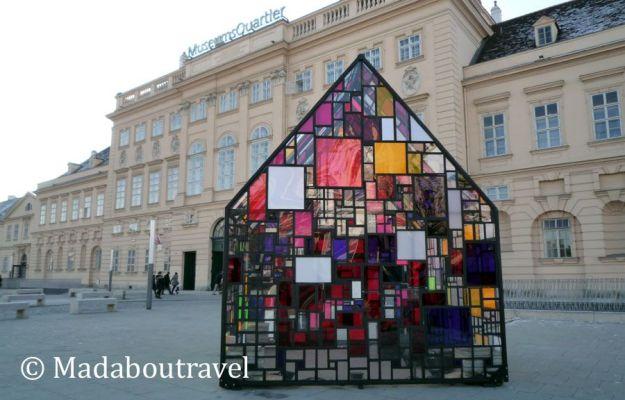 Museums Quartier en invierno
