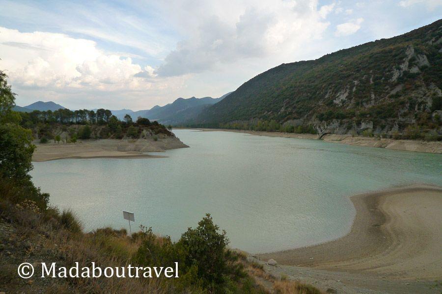 Embalse del río Gállego