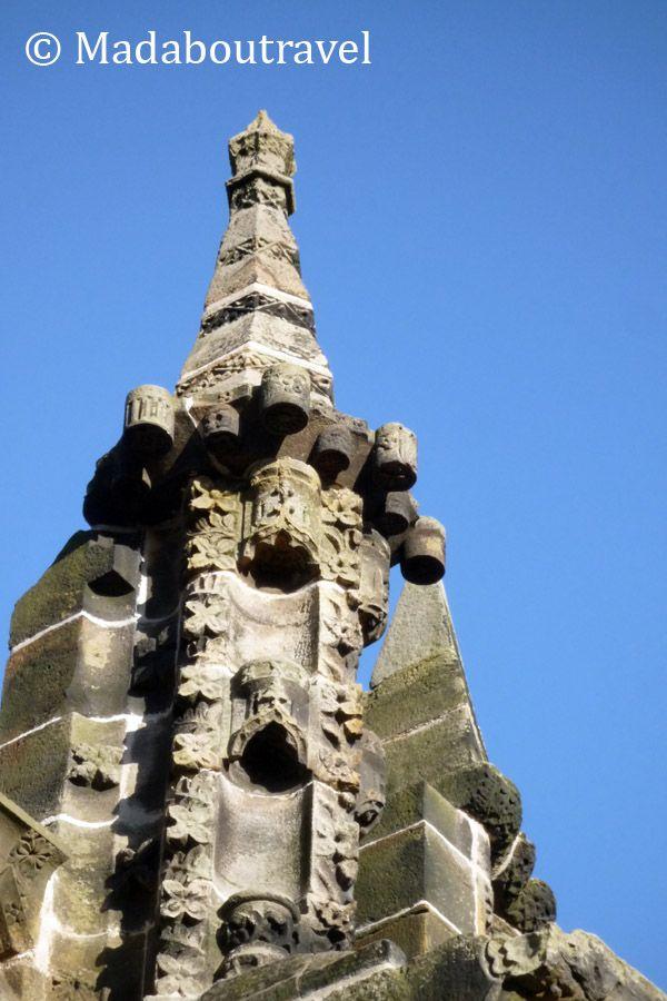 Pináculo en el exterior de la capilla de Rosslyn