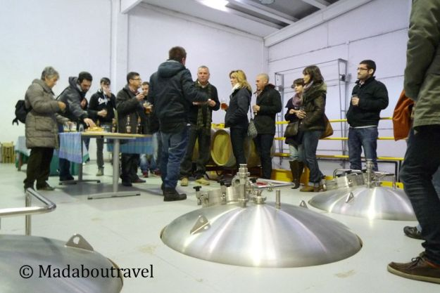 Visita a la fábrica de Cervesa del Montseny Artesana
