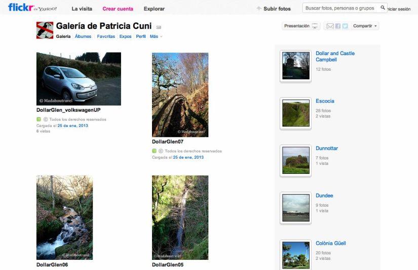 Página de Flickr de Madaboutravel