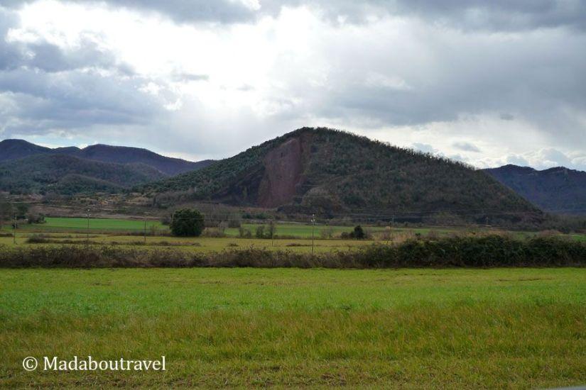 Colores y matices en la zona volcánica de la Garrotxa