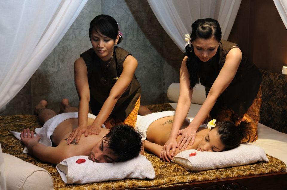 Masaje balinés en Bali Spirit Spa