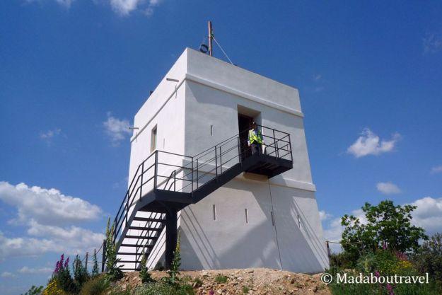 Torre de telegrafía óptica de Montornès del Vallès restaurada