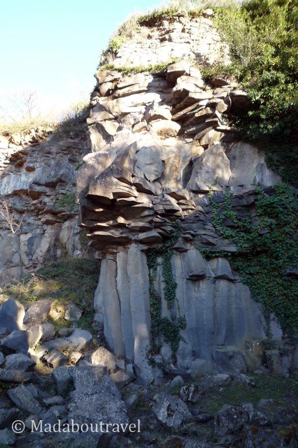 Formaciones basálticas en el Boscarró