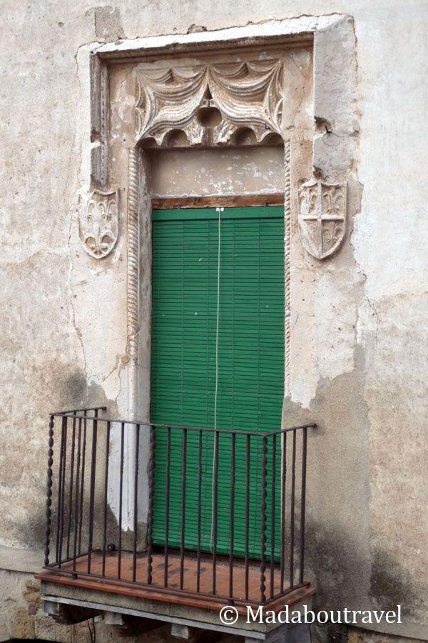 Balcón gótico en Santa Pau